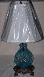 Decanter lamp